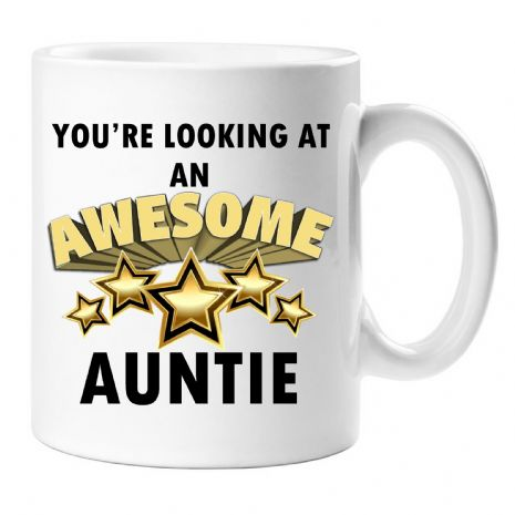 You're looking at an AWESOME AUNTIE Novelty Gift Mug N37